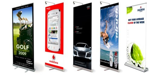 Roll Up Banner Roll Up Stand Rollup Banner Printing For Dubai Beauteous Pull Up Display Stands