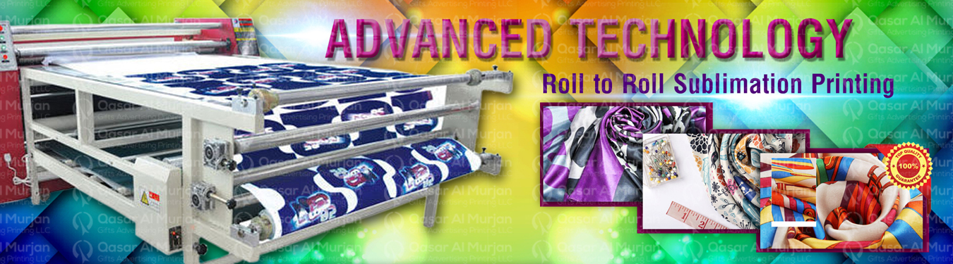 roll to roll heat transfer printing in dubai