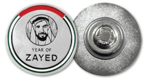 YEAR OF ZAYED'S name badge printing and making